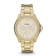 AM4482 - Cecile Multifunction Stainless Steel Watch - Gold-Tone