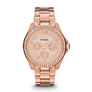 AM4483 - Cecile Multifunction Stainless Steel Watch - Rose