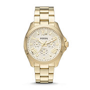 AM4510 - Cecile Multifunction Stainless Steel Watch - Gold-Tone