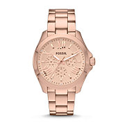 AM4511 - Cecile Multifunction Stainless Steel Watch - Rose
