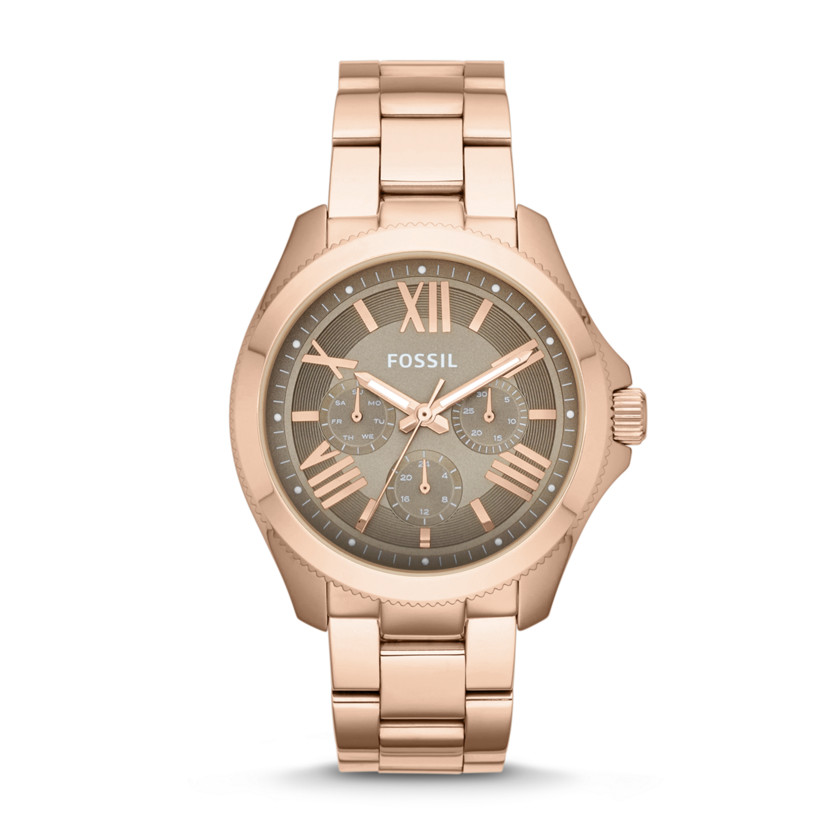 Fossil  Cecile Multifunction Stainless Steel Watch - Rose  22529908