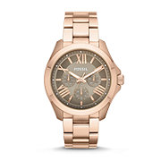 AM4533 - Cecile Multifunction Stainless Steel Watch - Rose