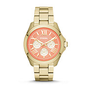AM4548 - Cecile Multifunction Stainless Steel Watch – Gold-Tone