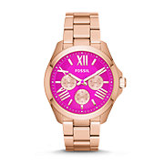 AM4549 - Cecile Multifunction Stainless Steel Watch – Rose Gold-Tone
