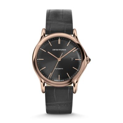 classic watch ars3003 emporio armani swiss made. Black Bedroom Furniture Sets. Home Design Ideas