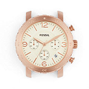 C181017 - Natalie Chronograph Stainless Steel 18mm Watch Case – Rose