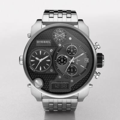 diesel watch diesel mens mr daddy watch dz7221 watchstation online store. Black Bedroom Furniture Sets. Home Design Ideas