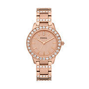 ES3020 - Jesse Three Hand Stainless Steel Watch - Rose