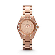 ES3196 - Stella Mini Three Hand Stainless Steel Watch - Rose