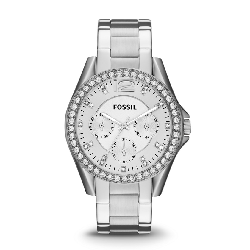 Fossil  Riley Multifunction Stainless Steel Watch  22436453