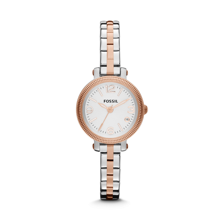 Fossil  Heather Three Hand Stainless Steel Watch - Two-Tone  22396478