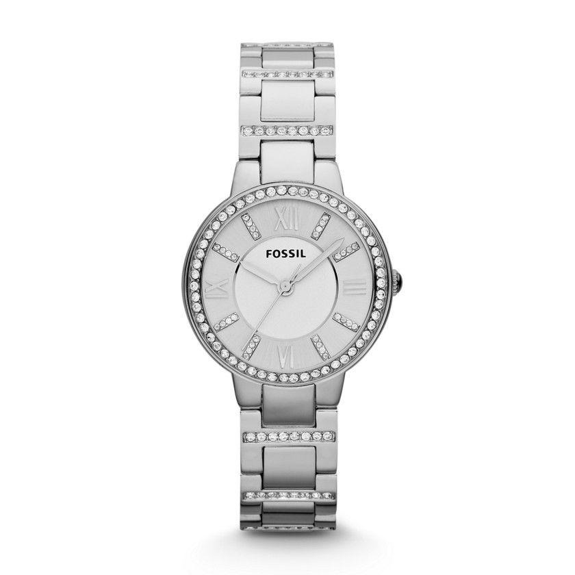 Fossil  Virginia Three Hand Stainless Steel Watch  22436505