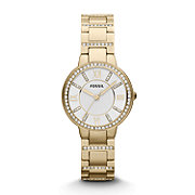 ES3283 - Virginia Three Hand Stainless Steel Watch Gold-Tone