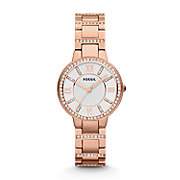 ES3284 - Virginia Three Hand Stainless Steel Watch - Rose