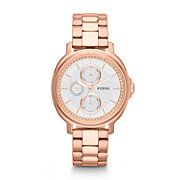 ES3353 - Chelsey Multifunction Stainless Steel Watch - Rose