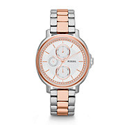 ES3356 - Chelsey Multifunction Stainless Steel Watch -Two-Tone