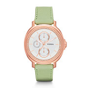 ES3357 - Chelsey Multifunction Leather Watch - Sage