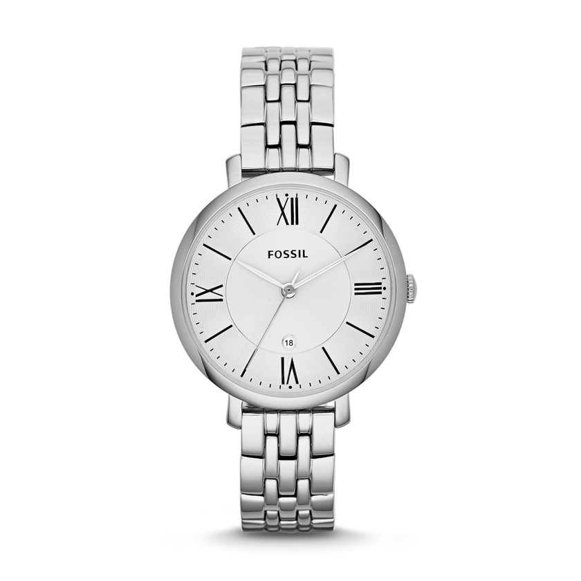 Fossil  Jacqueline Three-Hand Stainless Steel Watch  22456621