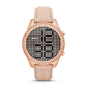 ES3443 - Electro Tick Leather Watch - Sand