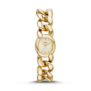 ES3460 - Curator Three-Hand Stainless Steel Watch – Gold-Tone