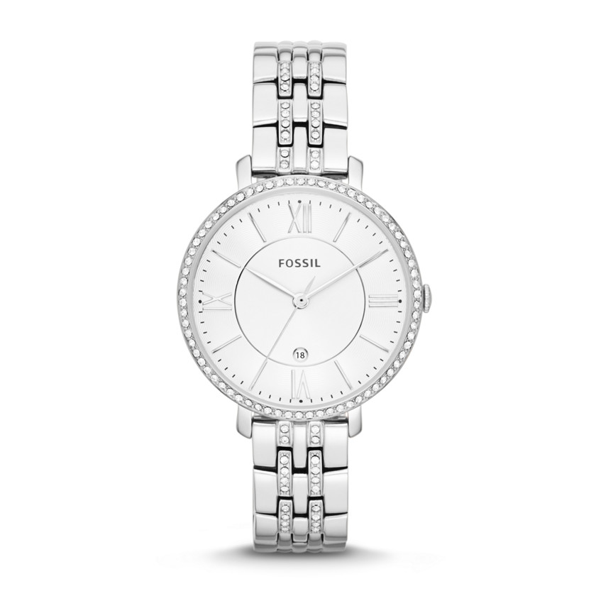 Fossil  Jacqueline Three-Hand Date Stainless Steel Watch  22544264