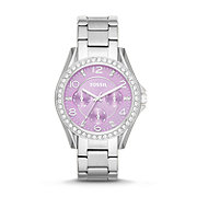 ES3568 - Riley Multifunction Stainless Steel Watch