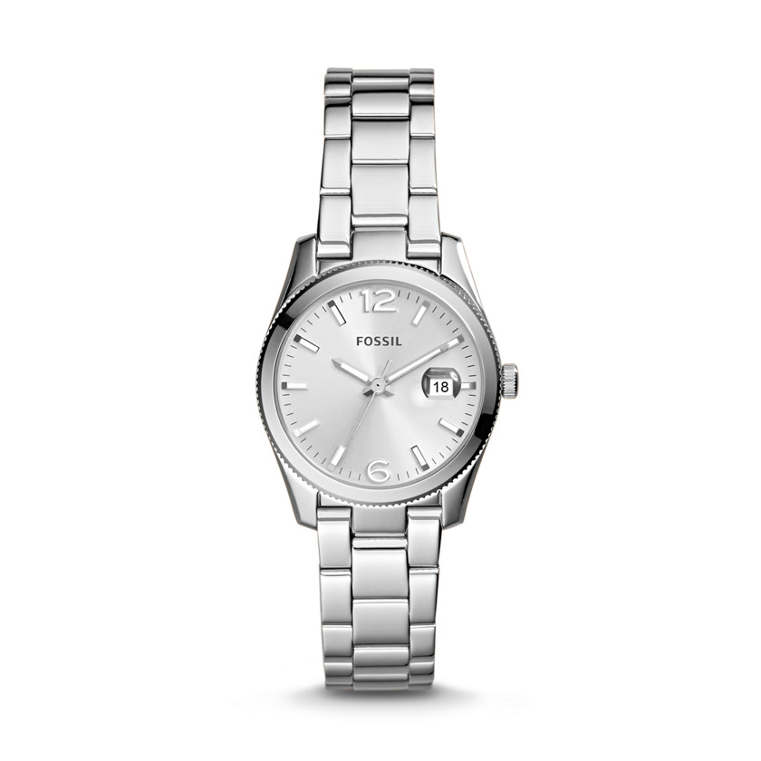 Fossil  Small Perfect Boyfriend Three-Hand Stainless Steel Watch