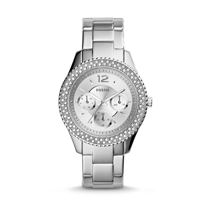 Fossil  Stella Multifunction Stainless Steel Watch  22560008