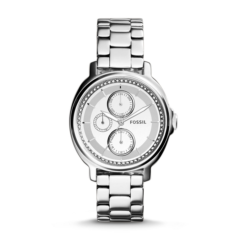 Fossil  Chelsey Multifunction Stainless Steel Watch  New  22576026