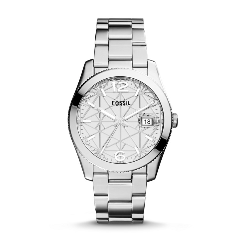 Fossil  Special Edition Perfect Boyfriend Three-Hand Date Stainless