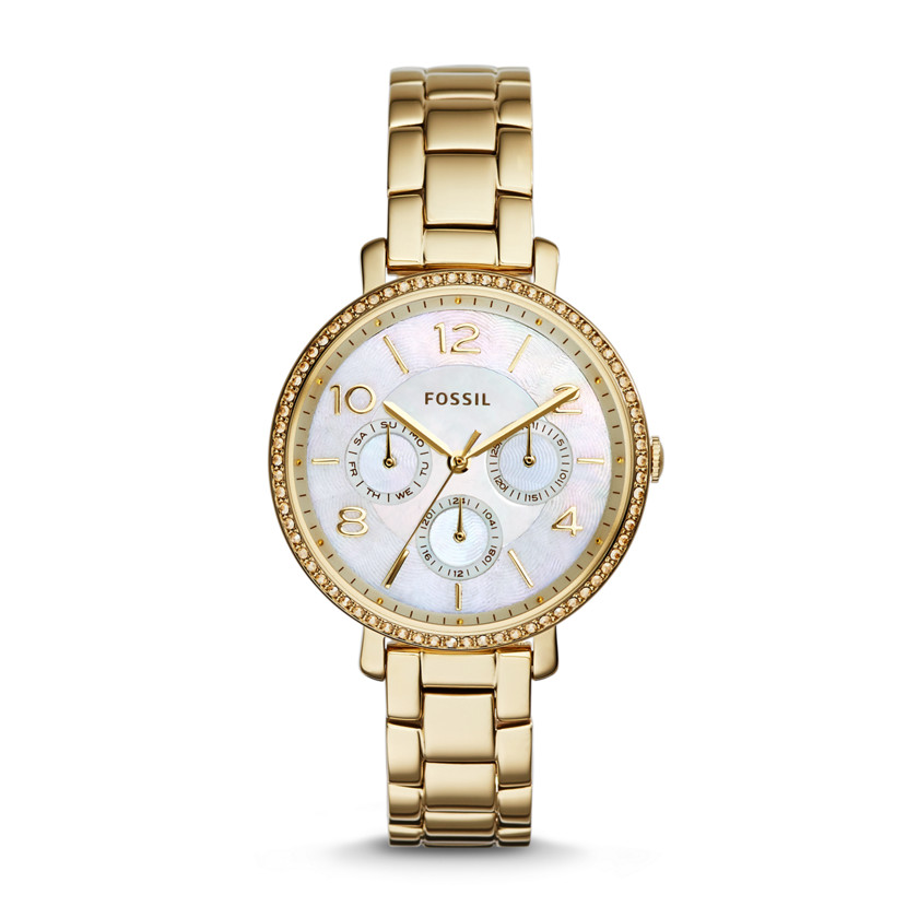 Fossil  Jacqueline Multifunction Stainless Steel Watch - Gold-Tone