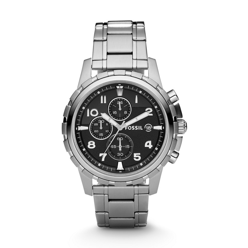 Fossil  Dean Chronograph Stainless Steel Watch  22178030