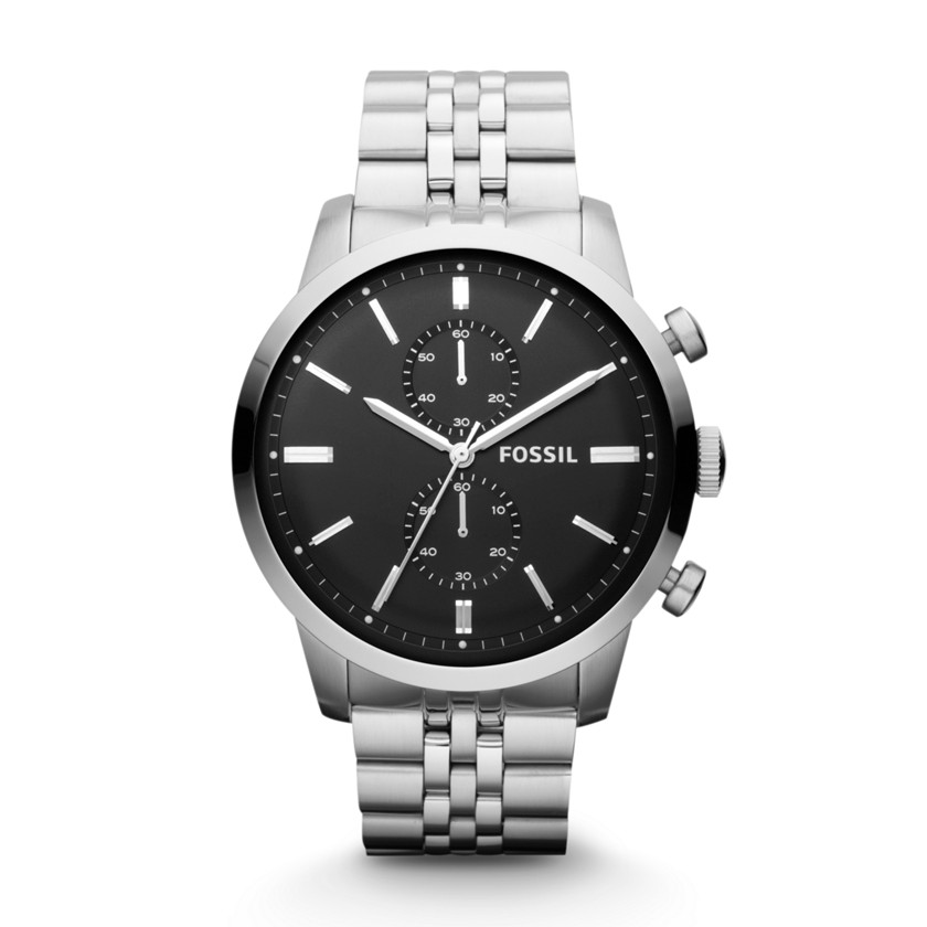 Fossil  Townsman Chronograph Stainless Steel Watch  22396522