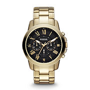 FS4815 - Grant Chronograph Stainless Steel Watch - Gold-Tone