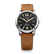 FSW1002 - Swiss Made Automatic Leather Watch - Tan