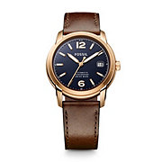 FSW1003 - Swiss Made Automatic Leather Watch - Brown