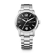 FSW4000 - Swiss Made Day/Date Stainless Steel Watch