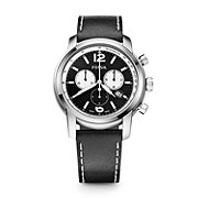 FSW7001 - Swiss Made Chronograph Leather Watch - Black