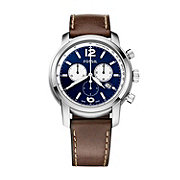 FSW7003 - Swiss Made Chronograph Leather Watch – Dark Brown