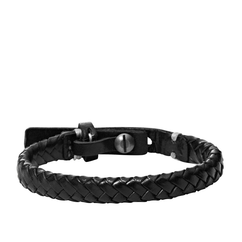 Fossil  Braided Bracelet - Black  22402364