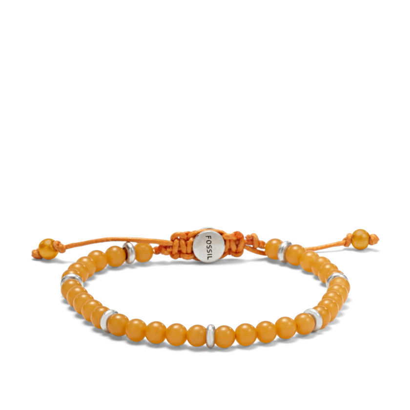 Fossil MEN 22506957 Bead Bracelet - Yellow