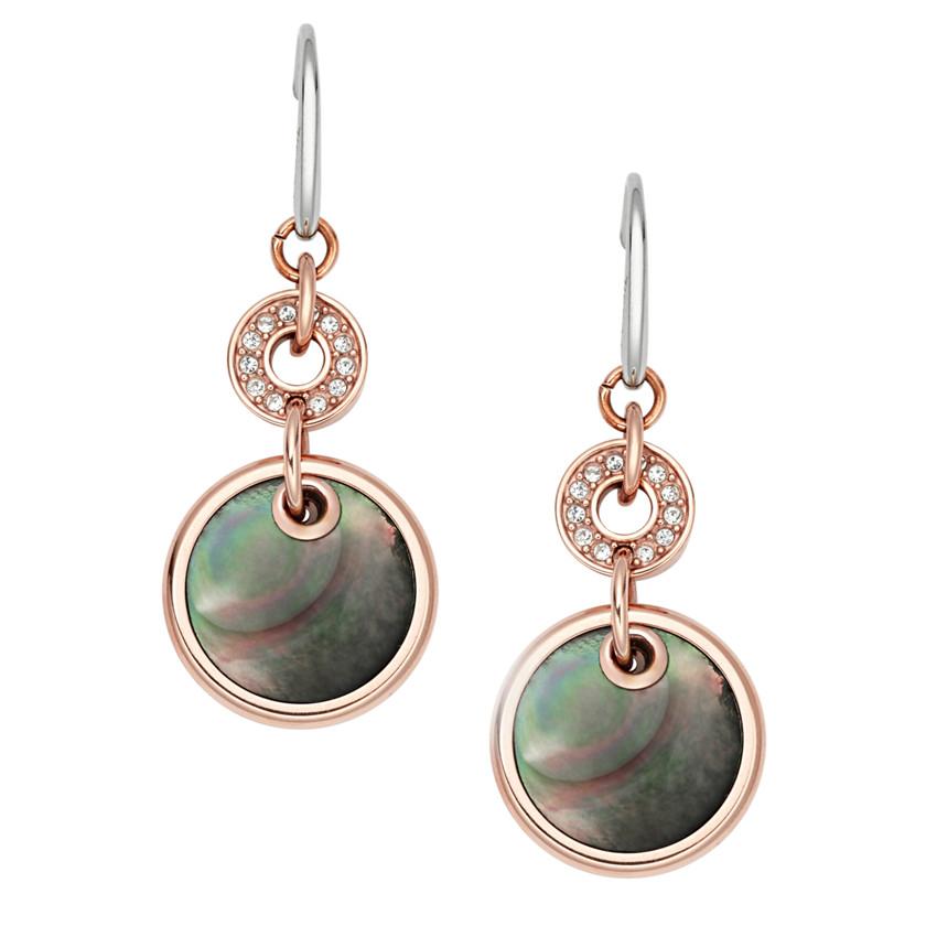 Fossil WOMEN 22544520 Disc Double Drop Earring