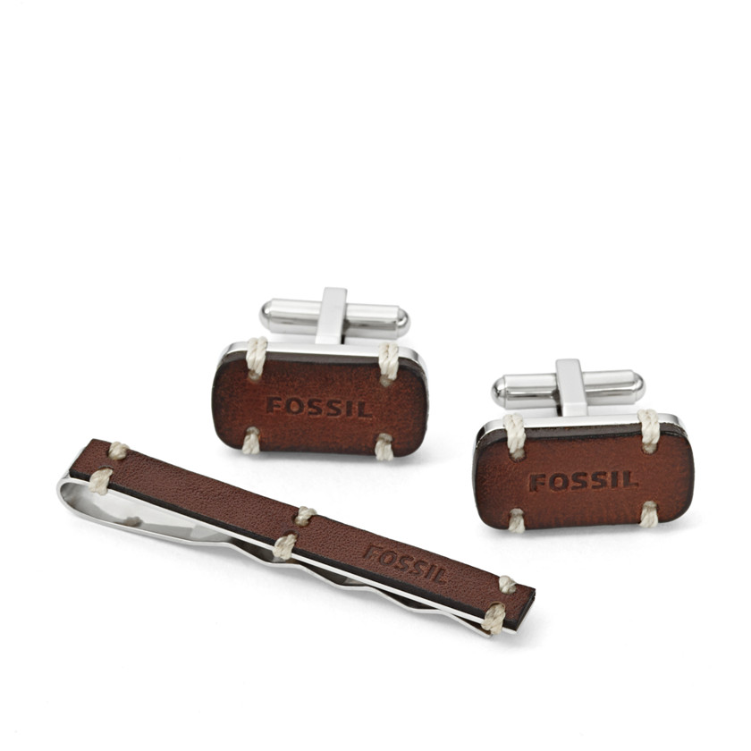 Fossil  Cufflink and Tiebar Set  22544619