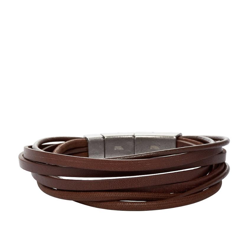 Fossil  Multi-Wrap Bracelet - Brown  22222619