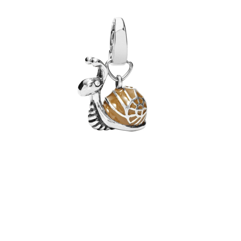 snail charm jf87735 fossil 174