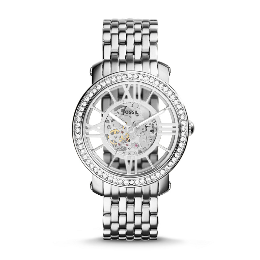 Fossil  Curiosity Hand-Wound Stainless Steel Watch  22575952