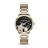 e379e014f759 Michael Kors Women s Portia Gold-Tone Watch