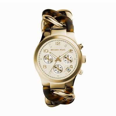 Michael kors watch michael kors two tone runway watch for Michaels craft store watches