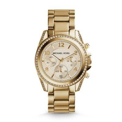 Michael kors watch michael kors gold tone blair watch for Michaels craft store watches