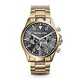 6f92ecd4307c Michael Kors Gold-Tone Gage Watch